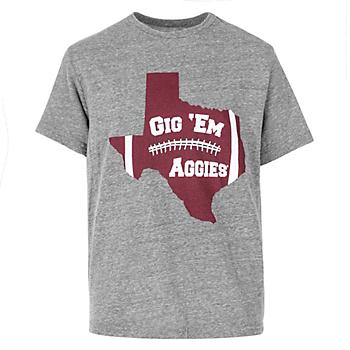 Texas A&M Aggies Boys Gig Em Tee