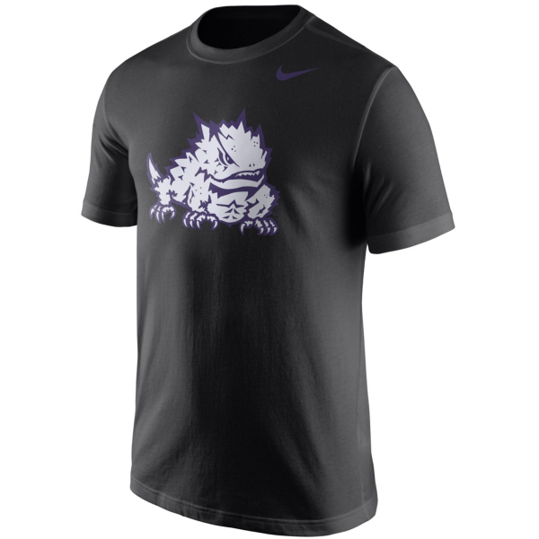 TCU Horned Frogs Nike Short Sleeve Logo Tee