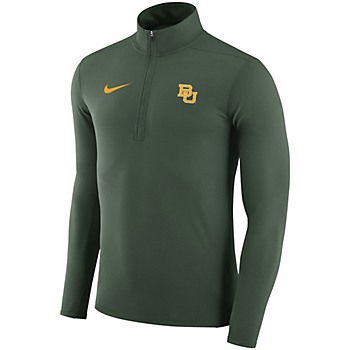 Baylor Bears Nike Dry Element Quarter Zip Pullover