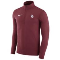 Oklahoma Sooners Nike Dry Element Quarter Zip Pullover