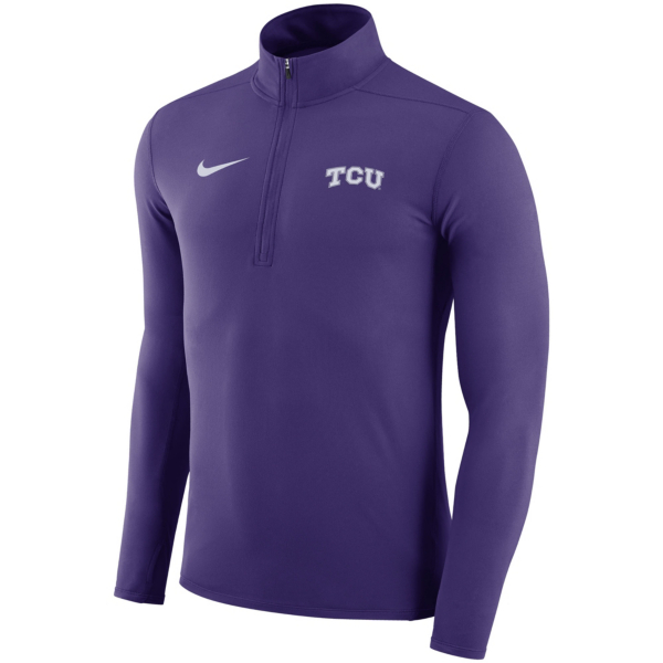 TCU Horned Frogs Nike Dry Element Quarter Zip Pullover