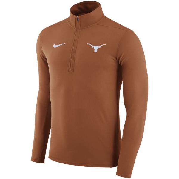 Texas Longhorns Nike Dry Element Quarter Zip Pullover