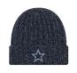 Dallas Cowboys New Era Womens Marled Knit Hat