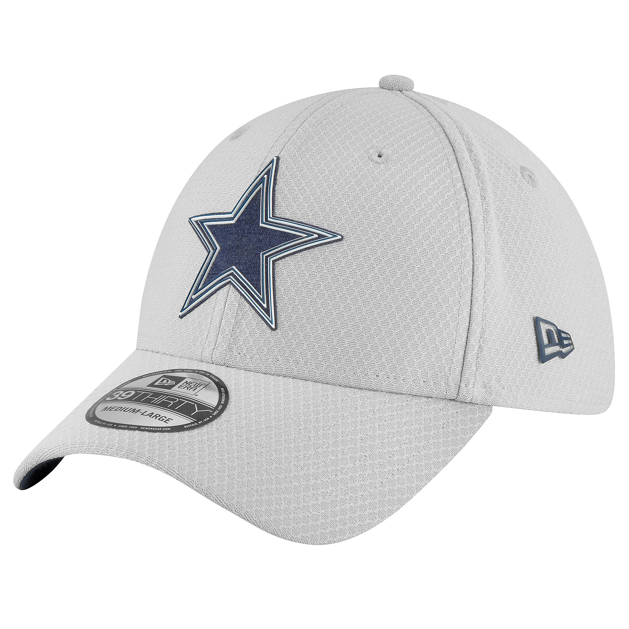 Dallas Cowboys New Era Youth Training 39Thirty Hat