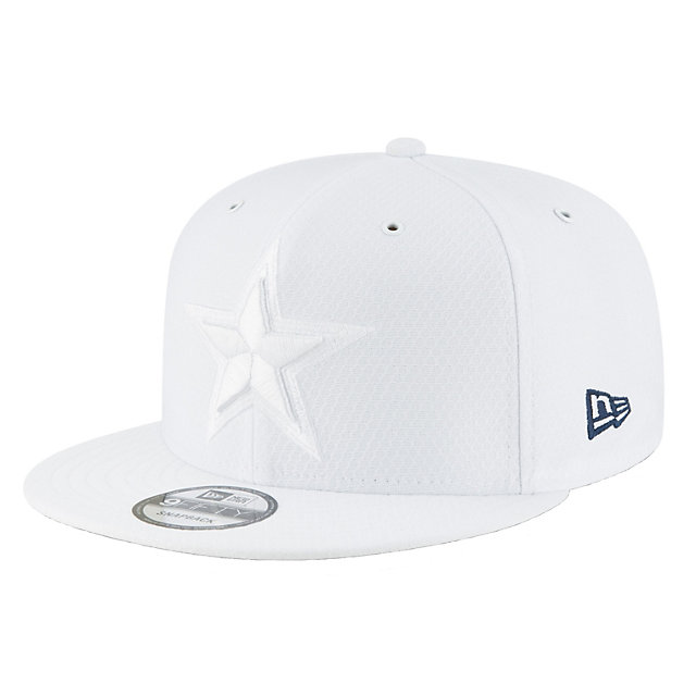 Dallas Cowboys New Era Youth Fashion Sideline Home Color Rush 9Fifty Cap