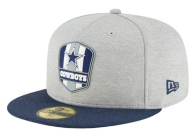 Dallas Cowboys New Era Sideline Road 59Fifty Cap