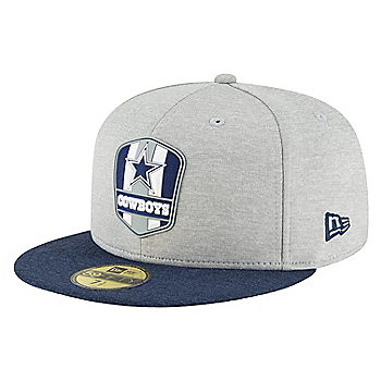 Dallas Cowboys New Era Sideline Road 59Fifty Cap 3d7f53c2a