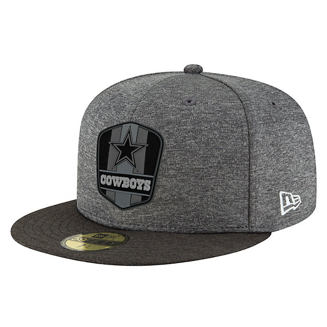 Dallas Cowboys New Era Fashion Sideline Road 59Fifty Cap