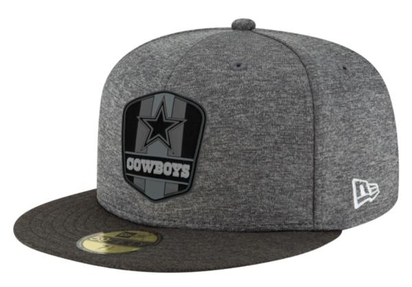Dallas Cowboys New Era Fashion Sideline Road 59Fifty Cap