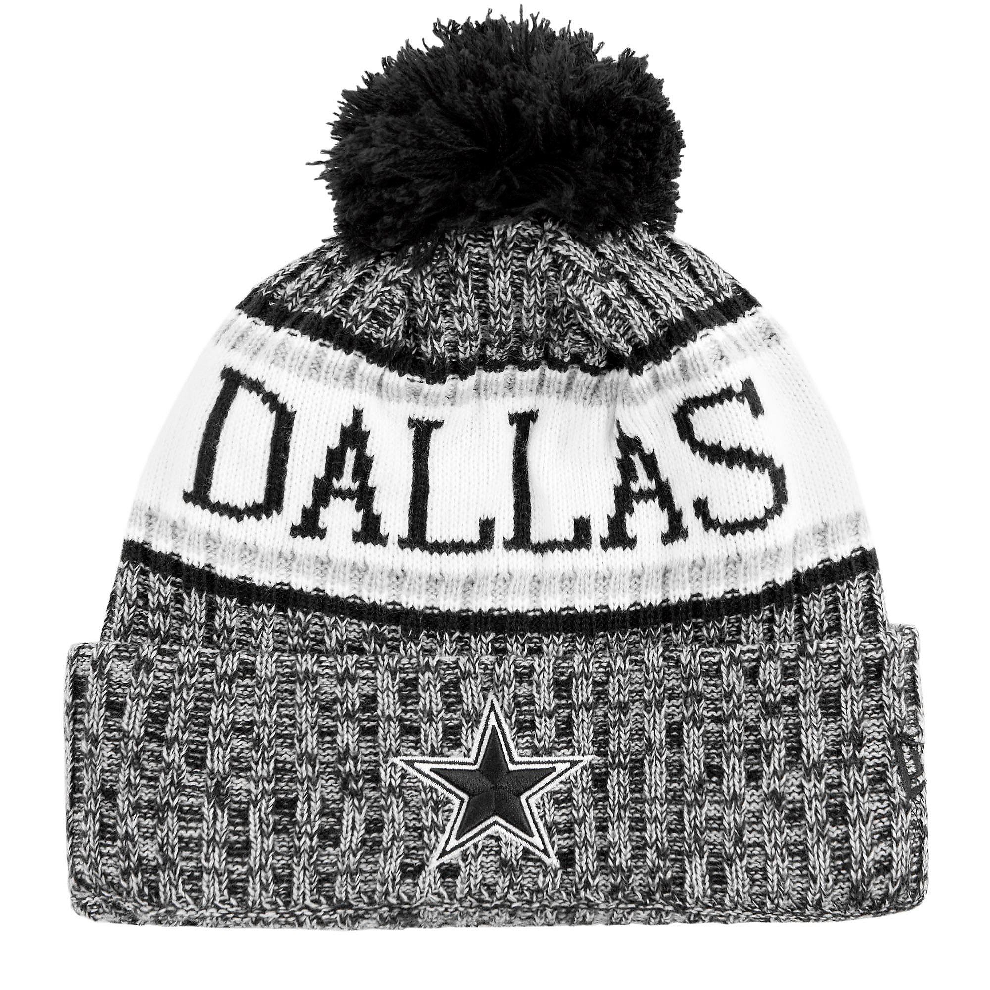 Dallas Cowboys New Era Fashion Sport Knit Hat