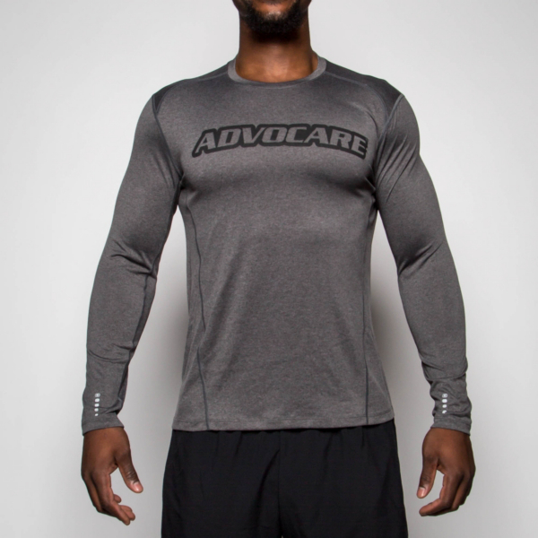 AdvoCare Mens Performance Pulse Long Sleeve Tee