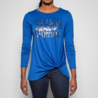 AdvoCare Ladies Long Sleeve Twist Tee