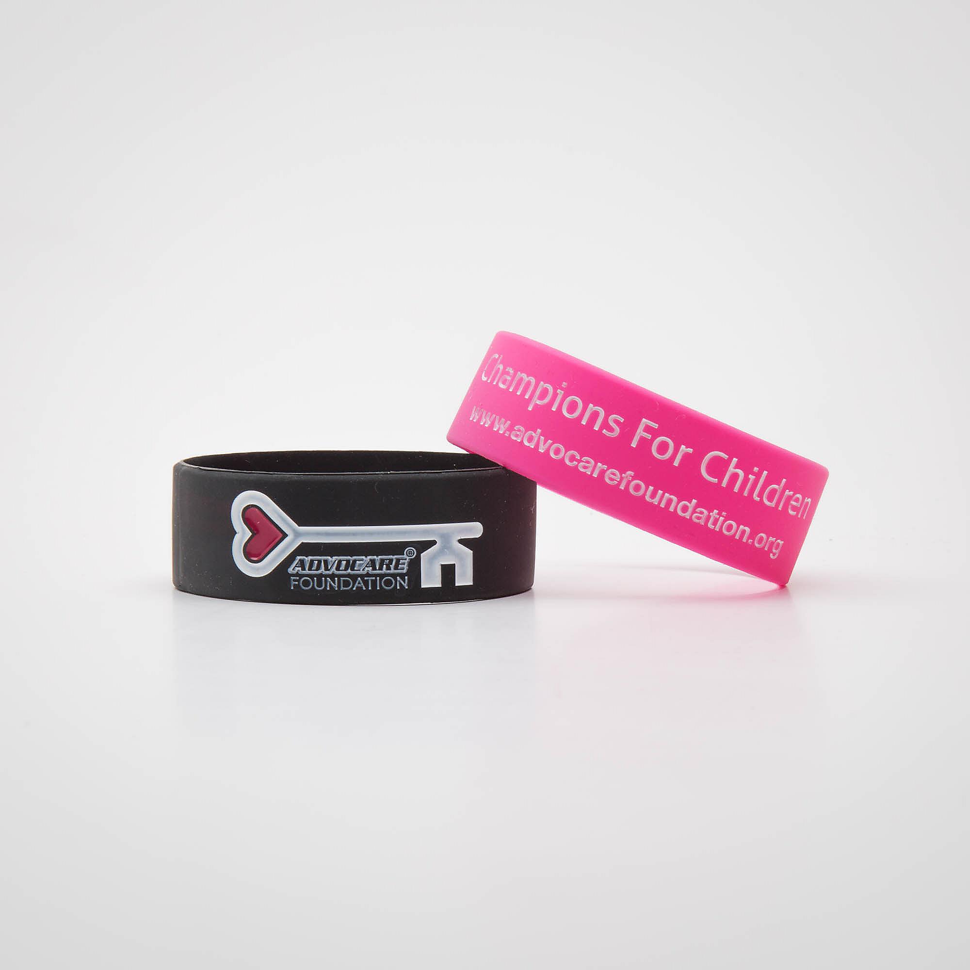 AdvoCare Foundation 2-Pack Wristbands