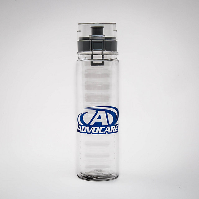 AdvoCare Flip Top Water Bottle