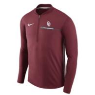 Oklahoma Sooners Nike Coaches Half-Zip Pullover
