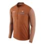 Texas Longhorns Nike Coaches Half-Zip Pullover