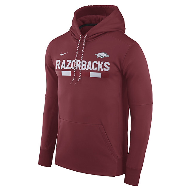 Arkansas Razorbacks Nike Mens Therma-Fit Hoody