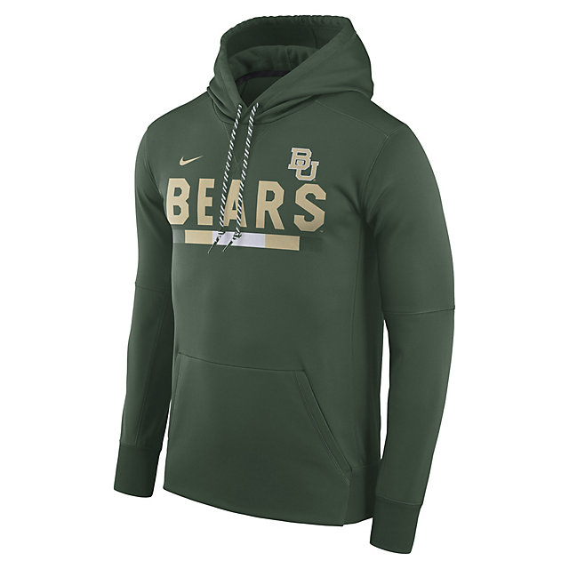 Baylor Bears Nike Mens Therma-Fit Hoody