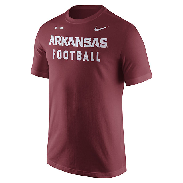 Arkansas Razorbacks Nike Facility Tee
