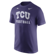 TCU Horned Frogs Nike Facility Tee
