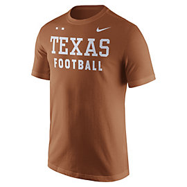 Texas Longhorns Nike Facility Tee