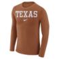 Texas Longhorns Nike Marled Long Sleeve Tee
