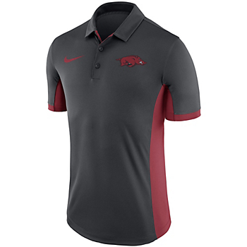 Arkansas Razorbacks Nike Dry Mens Evergreen Polo