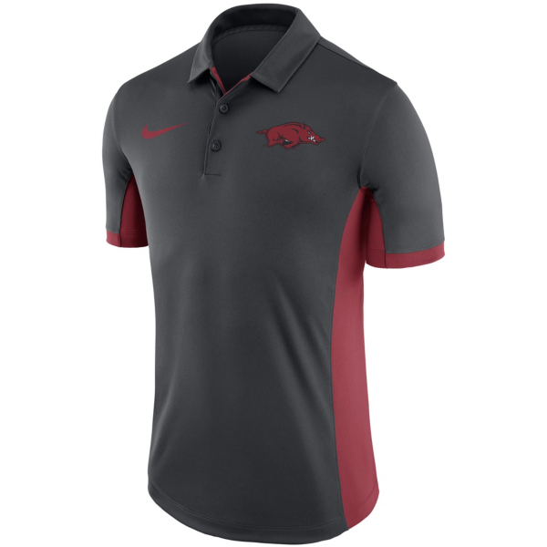 Arkansas Razorbacks Nike Dry Mens Evergreen Polo