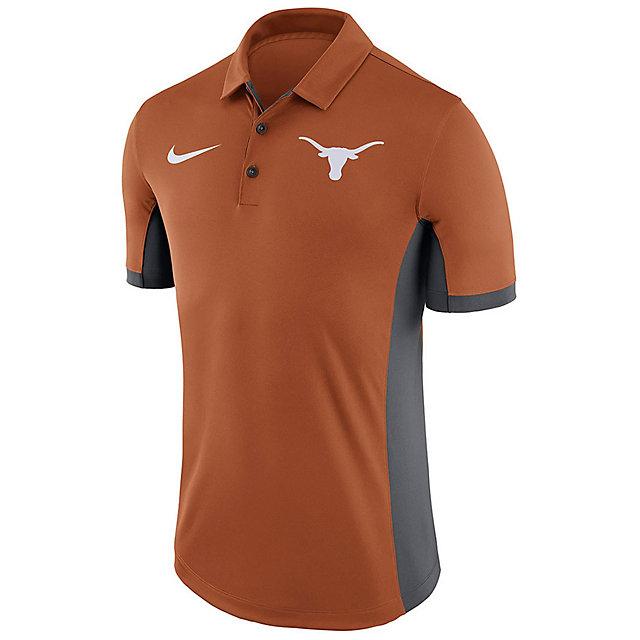 Texas Longhorns Nike Dry Mens Evergreen Polo