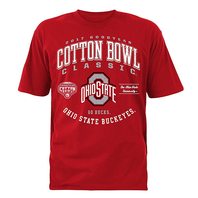 2017 Goodyear Cotton Bowl Ohio State Mens Participant Short Sleeve Tee
