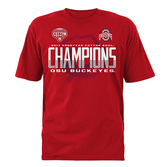 2017 Goodyear Cotton Bowl Ohio State Mens Titleholder Short Sleeve Tee