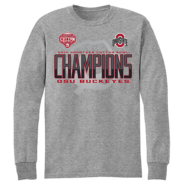 2017 Goodyear Cotton Bowl Ohio State Mens Titleholder Long Sleeve Tee