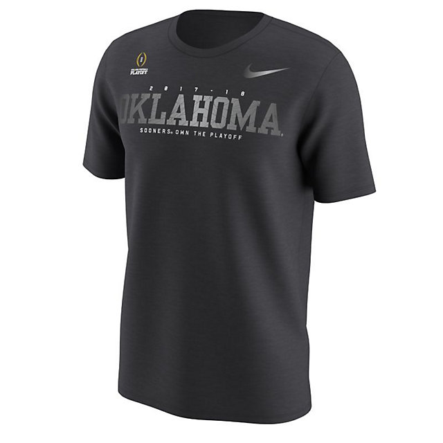 Oklahoma Sooners Nike 2018 College Football Playoff Bound New Day Short Sleeve Tee