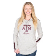 Texas A&M Aggies Pressbox Gibson Hooded Tee