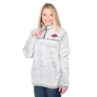Arkansas Razorbacks Pressbox Poodle Jacket