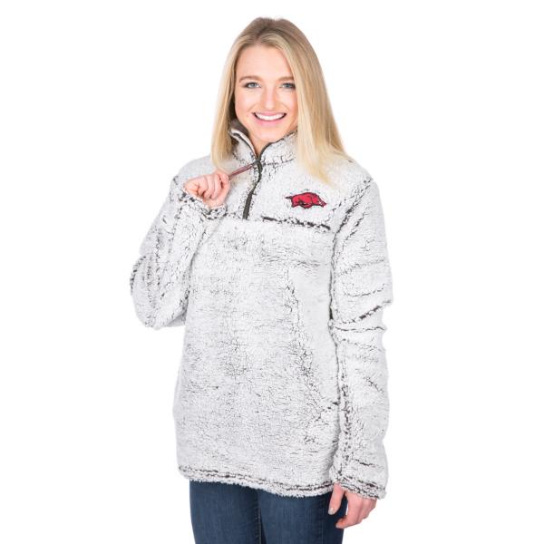 Arkansas Razorbacks Pressbox Poodle Jacket