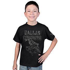 Dallas Cowboys MARVEL Youth Panther Fearless Tee