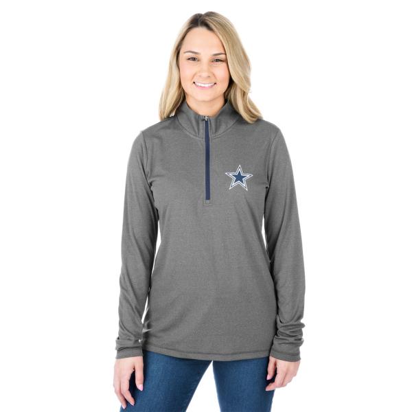 Dallas Cowboys Darcy Quarter-Zip Pullover