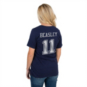 Dallas Cowboys Womens Cole Beasley #11 Bubbled Name and Number Tee