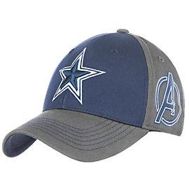 Dallas Cowboys MARVEL Avengers Hero Star Cap