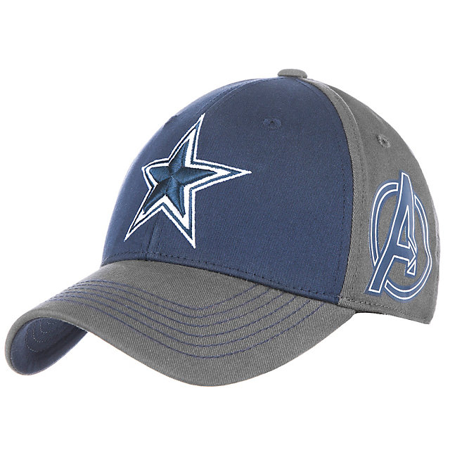 Dallas Cowboys MARVEL Avengers Hero Star Cap
