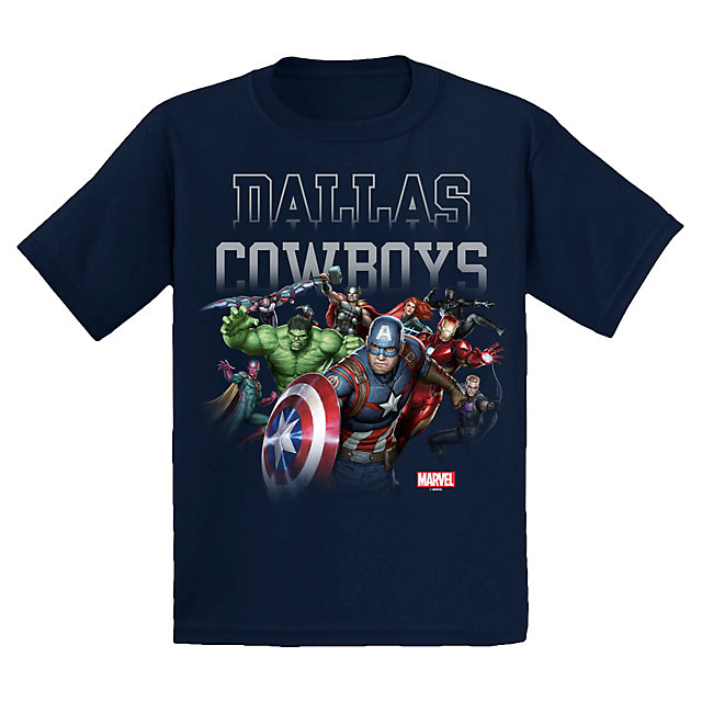 Dallas Cowboys MARVEL Youth Team Rush Tee