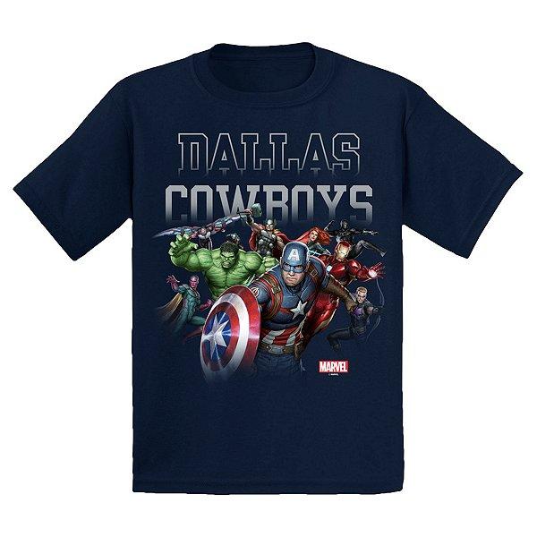 Dallas Cowboys MARVEL Youth Team Rush Tee