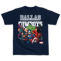 Dallas Cowboys MARVEL Toddler Practice Assemble Tee