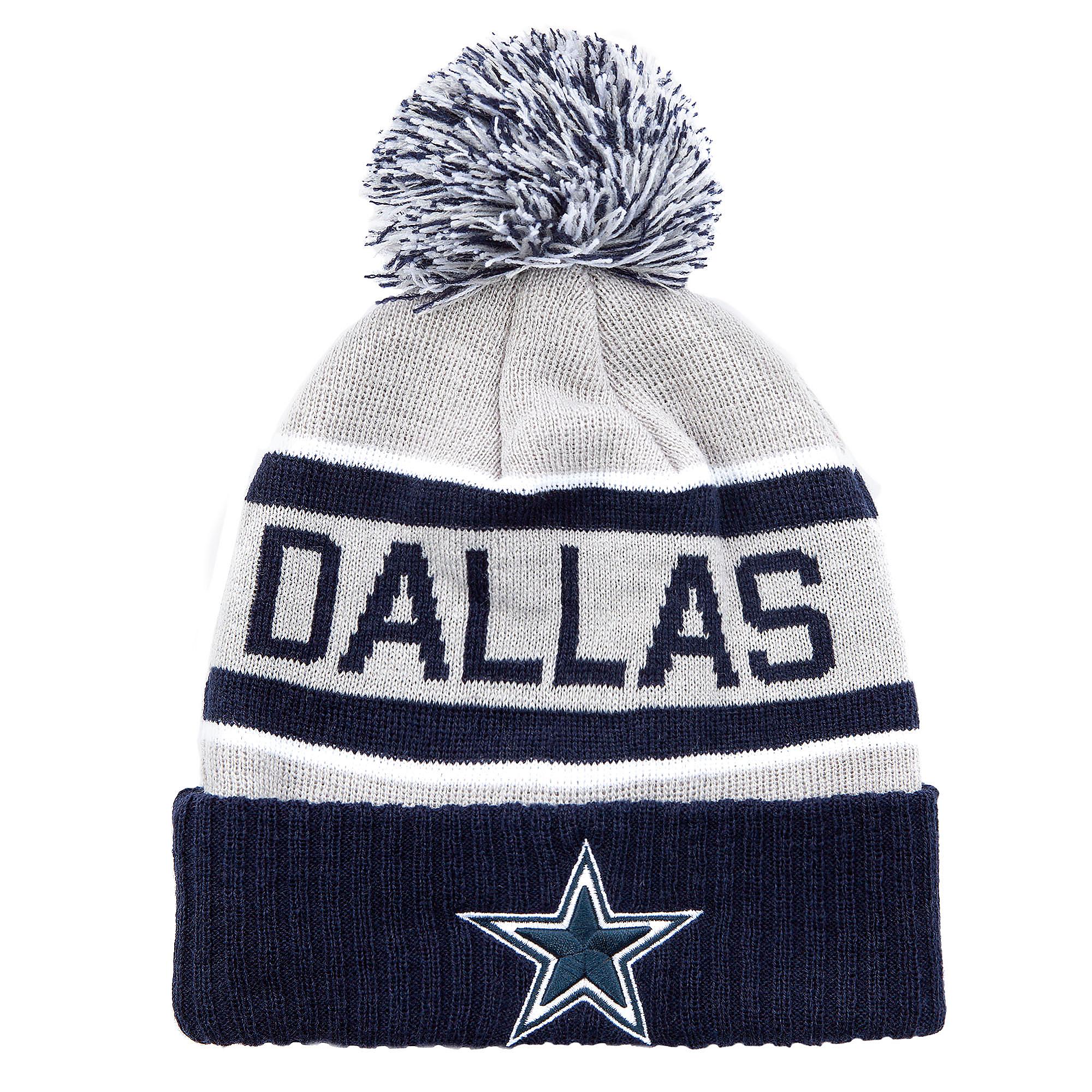 856128ddbac528 Dallas Cowboys Dorian Knit Hat | Dallas Cowboys Pro Shop