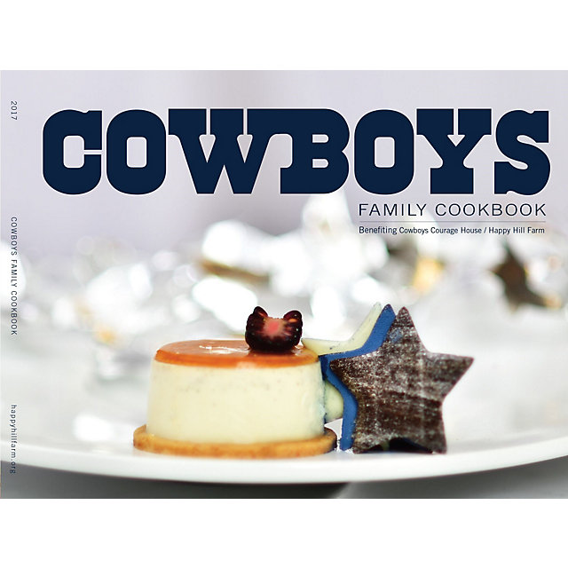 Dallas Cowboys 2017 Family Cookbook