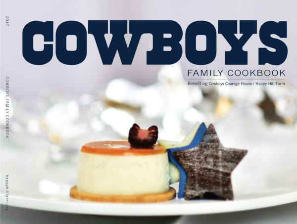 Dallas Cowboys 2017 Family Cookbook
