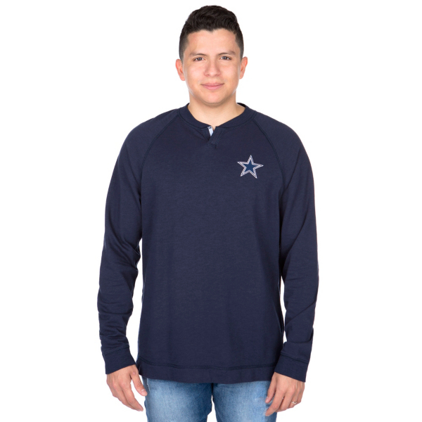 Dallas Cowboys Tommy Bahama Sunset Slub Henley Tee