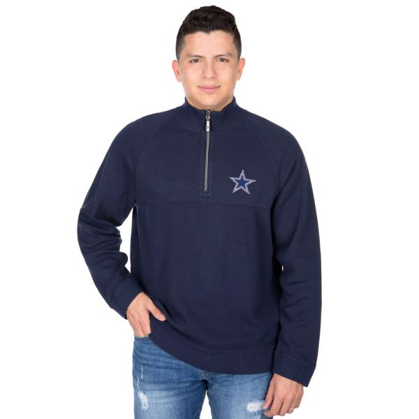 Dallas Cowboys Tommy Bahama Fairway Flip Half-Zip Pullover