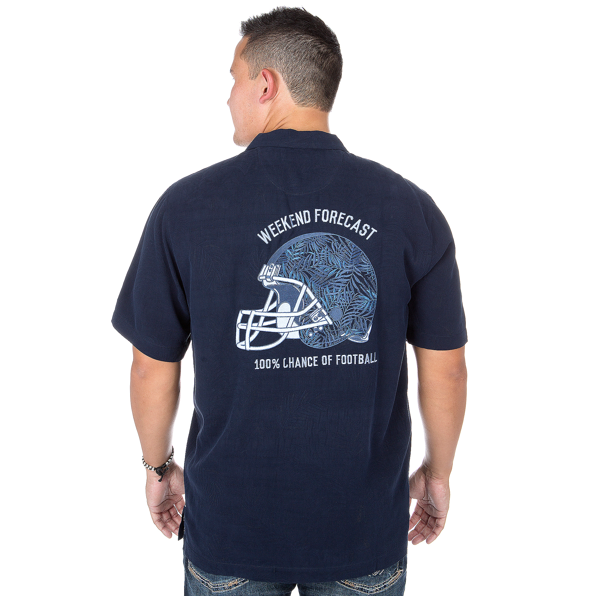 Dallas Cowboys Tommy Bahama Weekend Forecast Tee